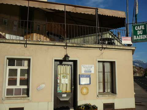 Café du Raisin - St-Saphorin
