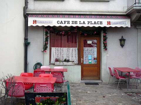 Café de la Place - St-Légier