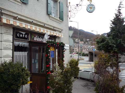 Restaurant le  Café du Raisin, Blonay