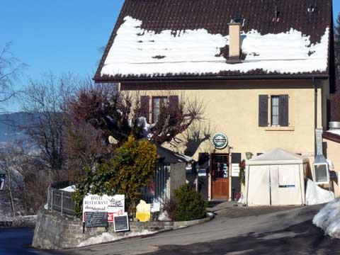 Restaurant du Signal, Blonay