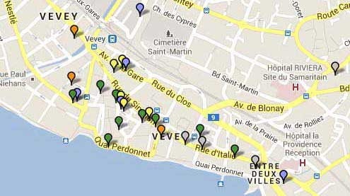 Restaurants Vevey