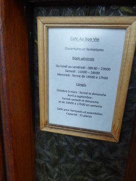 Restaurant Au Bon Vin, Chardonne
