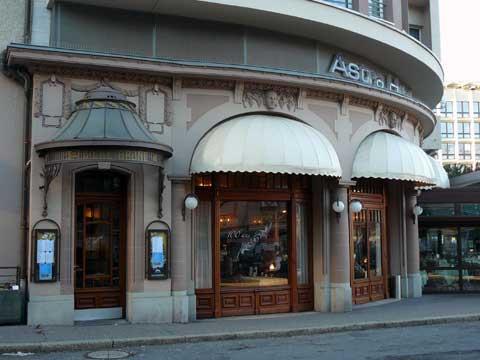 Restaurant Astra - Brasserie la Coupole - Buffet de la Gare, Vevey