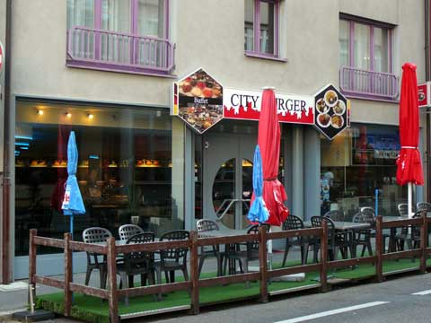 Restaurant City-Burger, Vevey