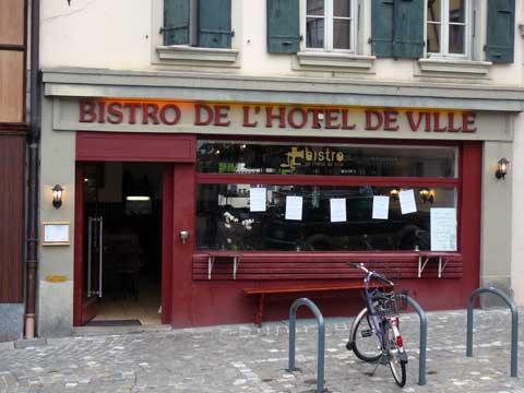 Bistro de l'Hôtel de Ville - Vevey