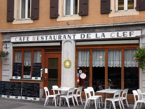 Restaurant La Clef, Vevey